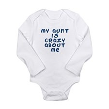 Cute New nephew Long Sleeve Infant Bodysuit