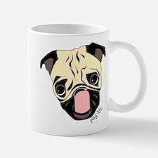 Pug Head Mugs