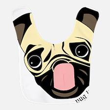 Pug Head Bib
