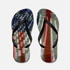 Patriotism Flip Flops