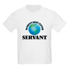 World's Most Clever Servant T-Shirt