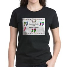 Matching Socks and Making Friends T-Shirt