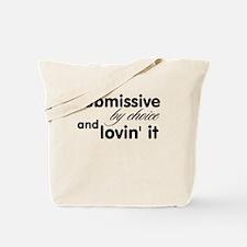 Unique Submissive Tote Bag
