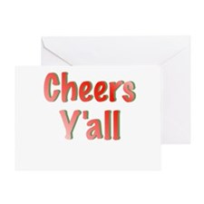 Cheers Y'all Greeting Cards