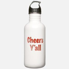 Cheers Y'all Water Bottle