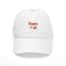 Cheers Y'all Baseball Baseball Cap