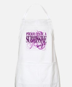 Proudly Submissive Apron