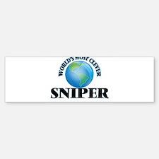 World's Most Clever Sniper Bumper Bumper Bumper Sticker