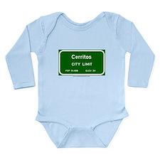 Cute Cerritos california Long Sleeve Infant Bodysuit