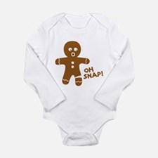 Funny Chirstmas Long Sleeve Infant Bodysuit
