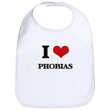 I Love Phobias Bib