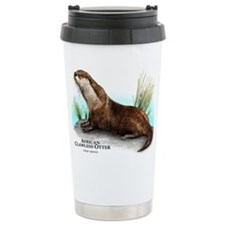 African Clawless Otter Travel Mug