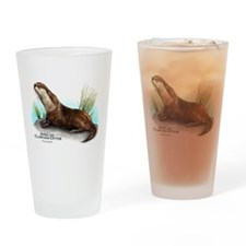 African Clawless Otter Drinking Glass