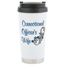 Unique Police wives Travel Mug