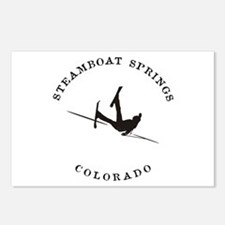 Steamboat Springs Colorado Funny Falling Skier Pos