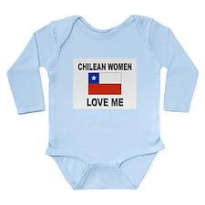 Cute Chilean girl Long Sleeve Infant Bodysuit