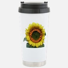Funny Sunflower Travel Mug