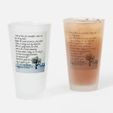Sterile Promentory Drinking Glass
