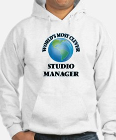 World's Most Clever Studio Manag Hoodie