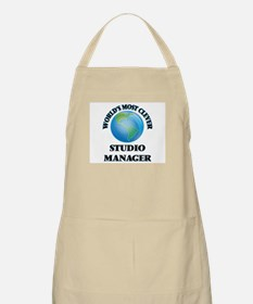 World's Most Clever Studio Manager Apron
