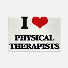 I Love Physical Therapists Magnets