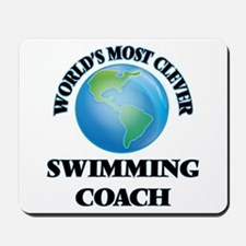 World's Most Clever Swimming Coach Mousepad
