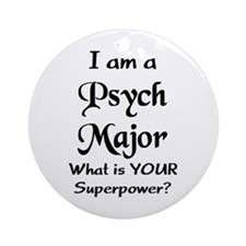 psych major Ornament (Round)
