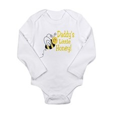 Cute Sweet honey bee Long Sleeve Infant Bodysuit