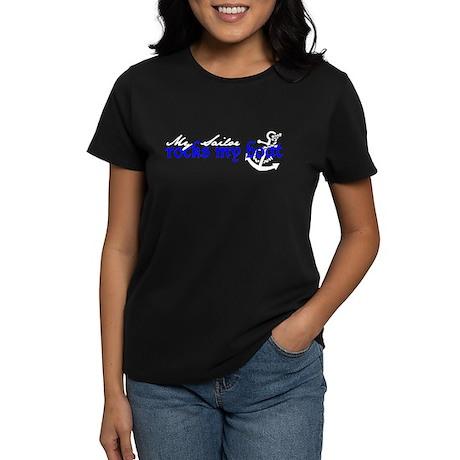 Rocks my boat Women's Dark T-Shirt