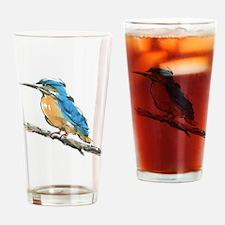 Kingfisher Drinking Glass