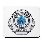 Florida Highway Patrol Mousepad