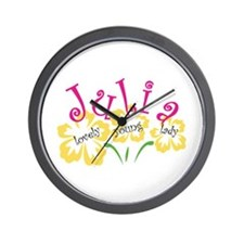 Julia Wall Clock