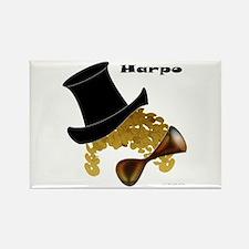 Harpo Rectangle Magnet