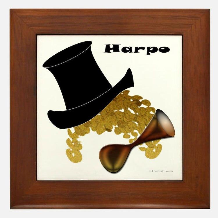 Harpo Framed Tile