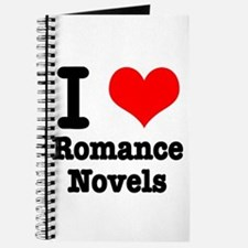I Heart (Love) Romance Novels Journal
