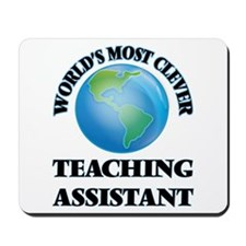 World's Most Clever Teaching Assistant Mousepad