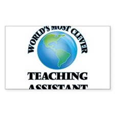 World's Most Clever Teaching Assistant Decal