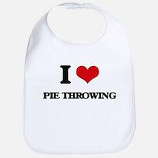 I Love Pie Throwing Bib
