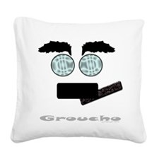 Groucho Square Canvas Pillow