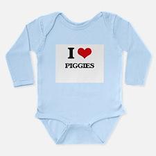 I Love Piggies Body Suit