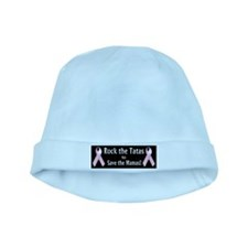 Rock the Tatas to Save the Mamas baby hat