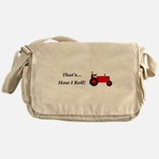 Red Tractor How I Roll Messenger Bag