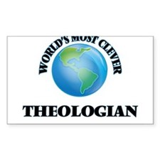 World's Most Clever Theologian Decal