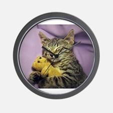Unique Tabby Wall Clock