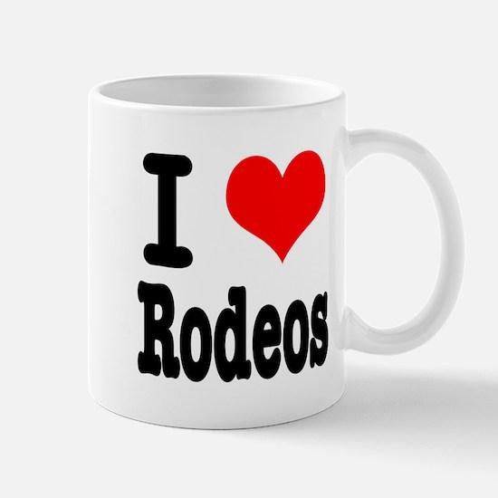 I Heart (Love) Rodeos Mug