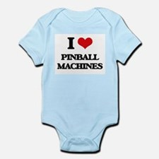 I Love Pinball Machines Body Suit
