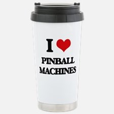 I Love Pinball Machines Travel Mug