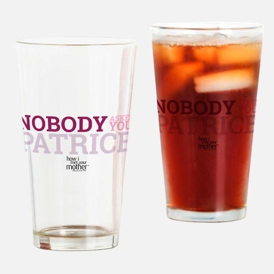 HIMYM Patrice Drinking Glass