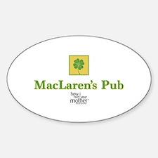 HIMYM Pub Sticker (Oval)