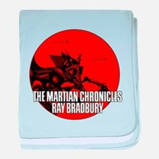 The Martian Cronicles baby blanket